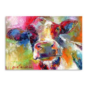 """Cow 1,"" Art Print, 12""x16""x0.1"""