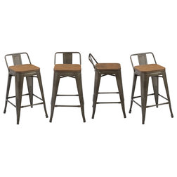 Industrial Outdoor Bar Stools And Counter Stools by BTExpert