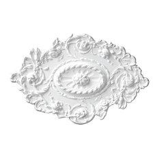 Floral Oval Ceiling Medallion