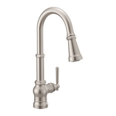 Moen Paterson 1-Handle Kitchen Faucet With Power Boost SR Stainless