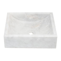 Natural Stone Vessel Sink, Greece Marble