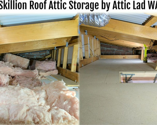 Skillion Roof Attic Storage by Attic Lad WA - Storage and Organisation