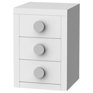 Sport Bedside Table, 3 Drawers