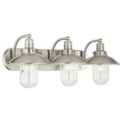 Perfect Beach Style Bathroom Vanity Lighting by Lampclick