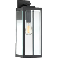 Quoizel WVR8407EK Westover 1 Light Outdoor Lantern - Earth Black