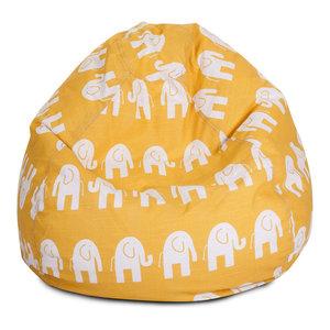 Indoor Yellow Ellie Small Bean Bag