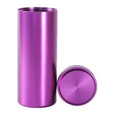 "Titanium Alloy Container Coffee Tea Canister 1.8""x4.6"", 06"