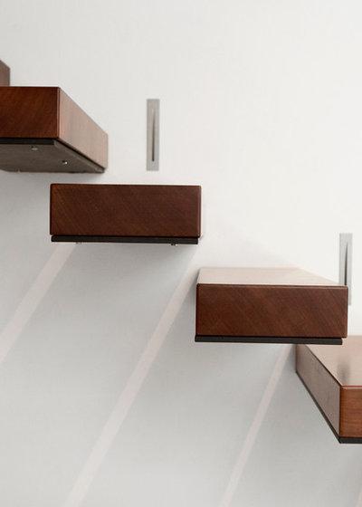 Contemporáneo Escalera by estudio fandi