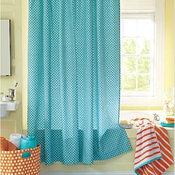 French Dot Shower Curtain - Garnet Hill