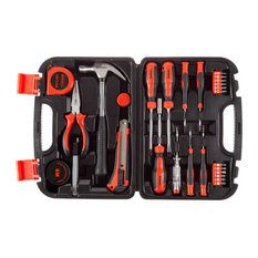 Stalwart 36-Piece Heat Treated Tool Kit With Carrying Case