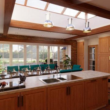 Rose Cottage - Morning Interior