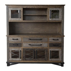 Crafters and Weavers Greenview Loft Sideboard / Hutch