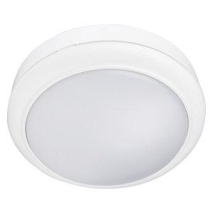 White 15W Flush LED Mini Bulkhead Light Ceiling Wall Bulkhead IP65