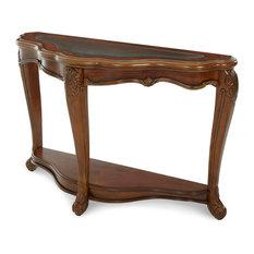AICO Palais Royale Rococo Cognac Sofa Table