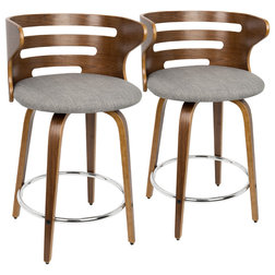 Midcentury Bar Stools And Counter Stools by LumiSource