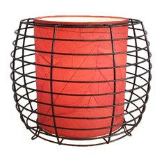 Outdoor Indoor Konani Lamp, Red