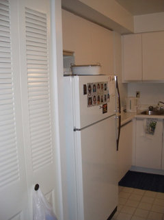 To Keep Or Get Rid Of Bulkhead Above Cabinets