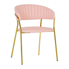 50 Most Popular Pink Dining Room Chairs For 2019 Houzz