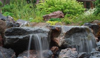 Водопад в Токсово