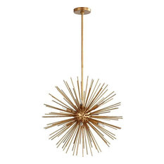 quorum international quorum lighting 600 8 74 electra pendant light gold leaf axis ceiling fixture ceiling fixture contemporary pendant