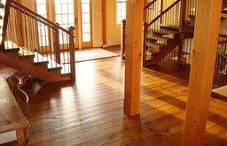 White Oak Floors - Live Sawn