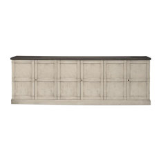 Alessa Wood Doors Buffet 112-inch