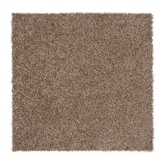 "Residence - 24""x24"" Elaine Carpet Tiles, Set of 8, Light Brown - Carpet Tiles"