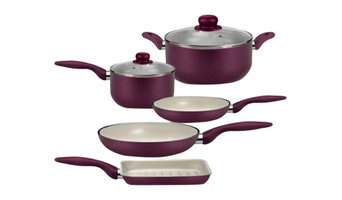 Saucepans and Frying Pans, Set of 7