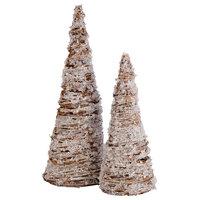 Crystal Set Of 2 Trees