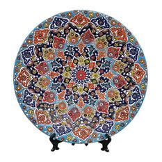ArioCraft - Handmade Decorative Ceramic Plate, Glazed Pottery - Decorative Plates
