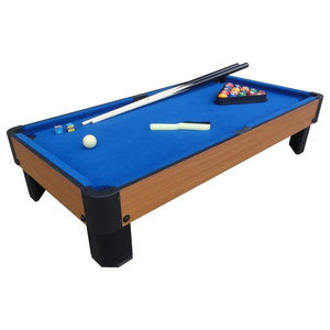 "Playcraft Sport Bank Shot 40"" Pool Table, Blue"