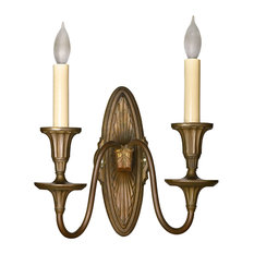 Consigned Antique Federal Two Candle Sconce