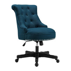 Sinclair Azure Office Chair, Black and Blue