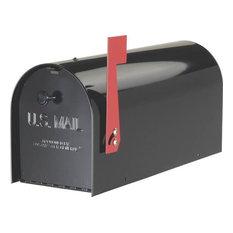 solar group mailbox tuff body heavyduty rural black mailboxes - Modern Mailboxes
