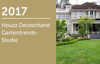 Houzz Deutschland Gartentrends-Studie 2017