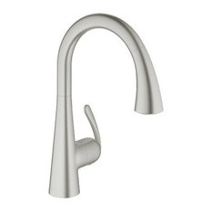 GROHE   Grohe 32 298 1 Ladylux Pull Down High Arc Kitchen Faucet
