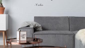 Star Wars Wall Quote Sticker