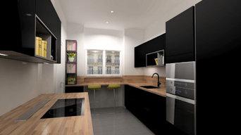 Cuisine appartement de standing