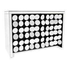 Onyx Mirrored Dresser