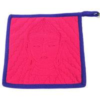 Buddha Hot Pad, Pink, Purple