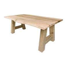 Forest Live Edge Dining Table, Unfinished, 100x240 Cm