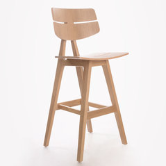 d1e89186ab12eb Natural Wood Bar Stools by Tevahome Furniture