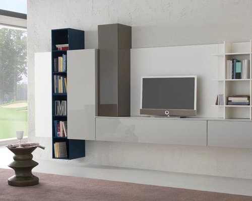 Modern Wall Unit Spar Exential Y17   $7,235.00   Living Room Furniture Sets Part 52