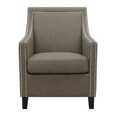 Delilah Accent Chair Brown
