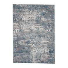 "Jaipur Living Violen Abstract Blue/Gray Area Rug, 8'10""x12'"