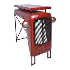 Esschert Design Tractor Table, Red