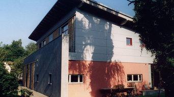 Neubau eines Einfamilienhaues in Holzrahmenbauweise