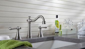 Danze Cape Anne two handle widespread faucet