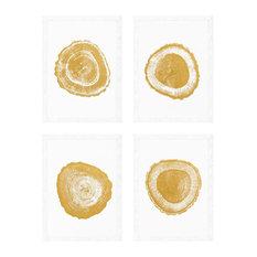 Eichholtz Tree Rings Framed Prints, 4-Piece Set, 61.5x91.5 cm