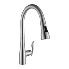 Pull Out Kitchen Faucet, Brush Nickel Finish